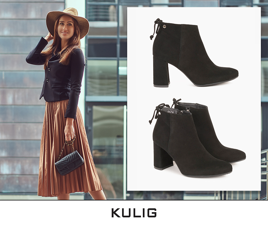 Pin By Kulig On Jesienne Inspiracje Boots Fashion Ankle Boot
