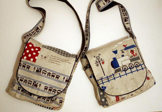 sew grown: Scavenger Bag Tutorial