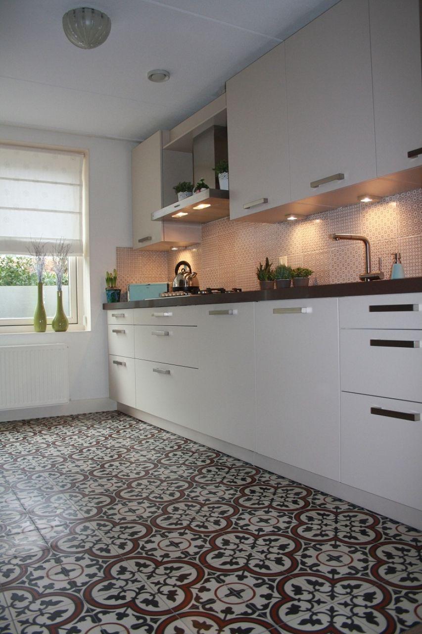 Super Płytki Do Kuchni Na Podłogę Płytki Cementowe