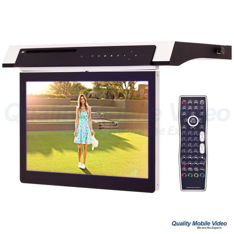 Clarus TOP-131KTV Under Cabinet 13 inch Kitchen TV with Built-In DVD ...