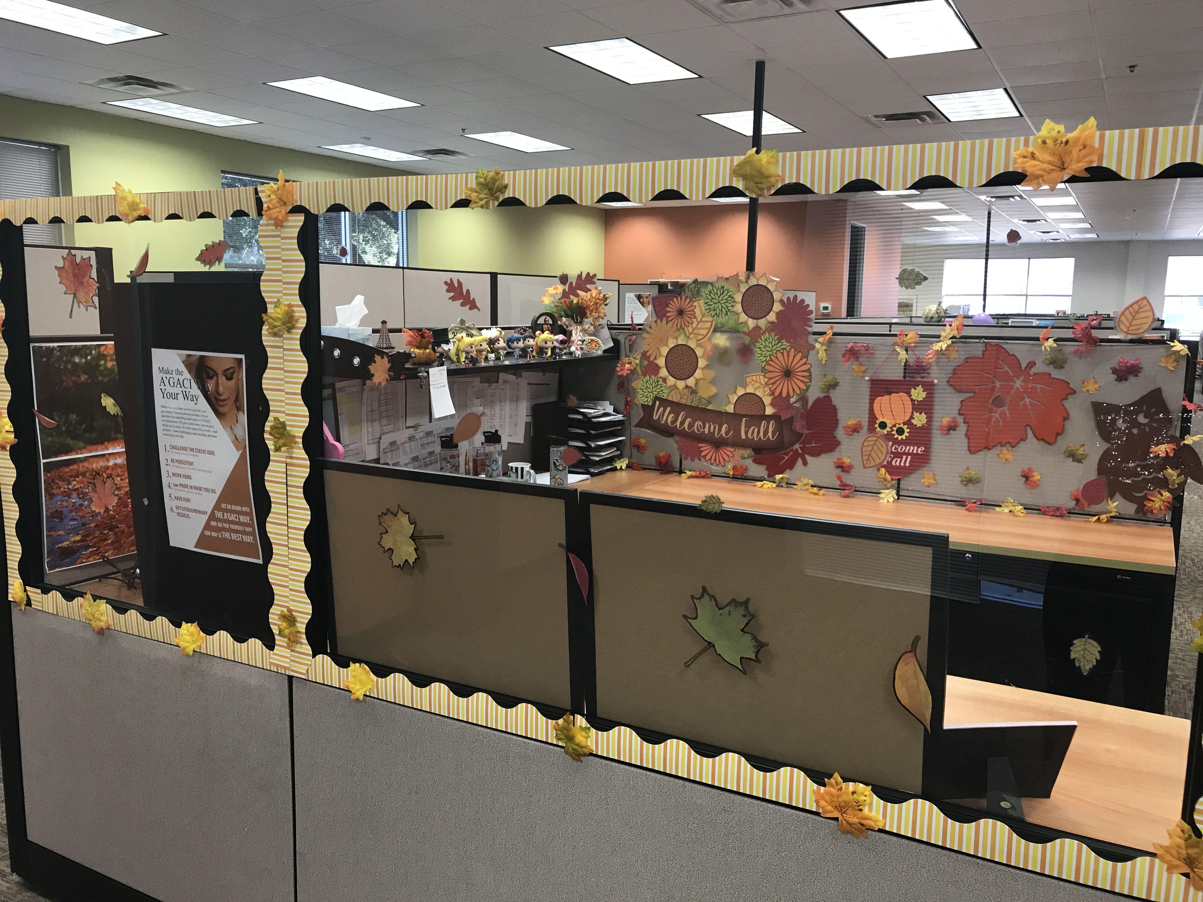 Fall Office Decor Holiday