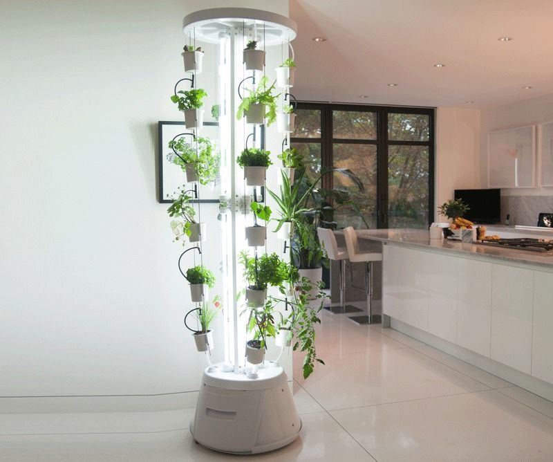 The nutritower is a complete vertical hydroponic gardening for Indoor gardening retailers