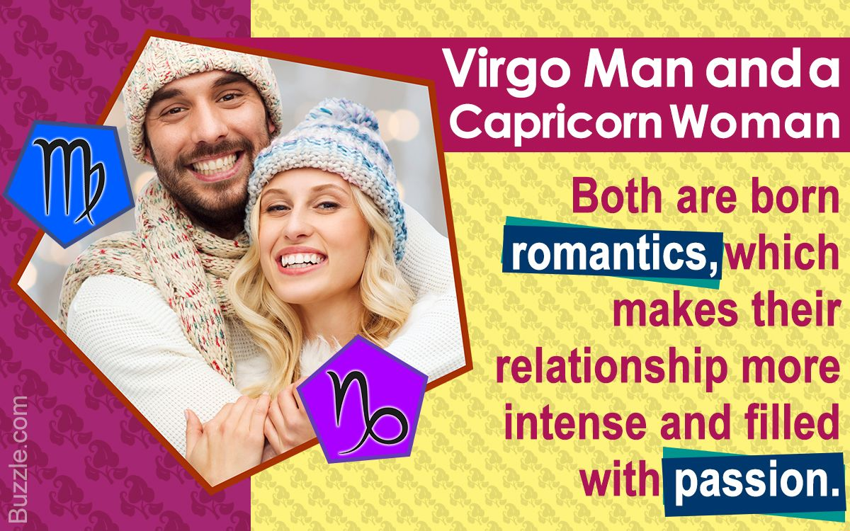 The Virgo man and Capricorn woman compatibility is one of