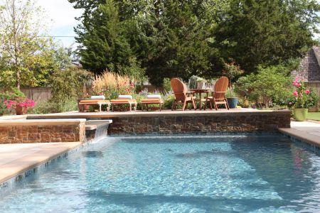 Landscape Design In Tulsa Creating A Practical Landscape Theme Landscape Design Pool Builders Design