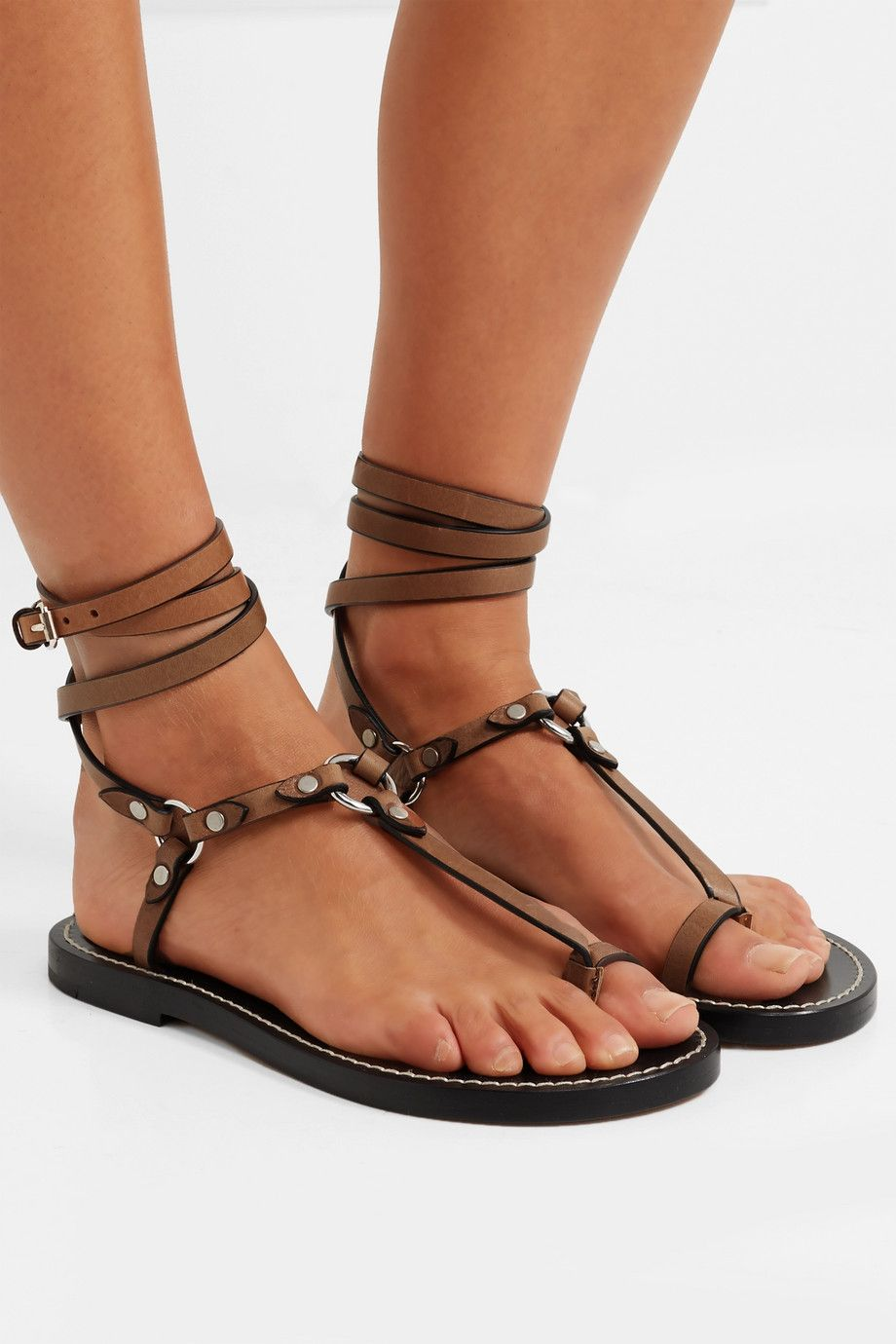 Big Discount Cheap Price Low Price Sale Isabel Marant Joxxy leather sandals Low Cost Cheap Sale Websites Cheap Sale Best Sale MsV6y8