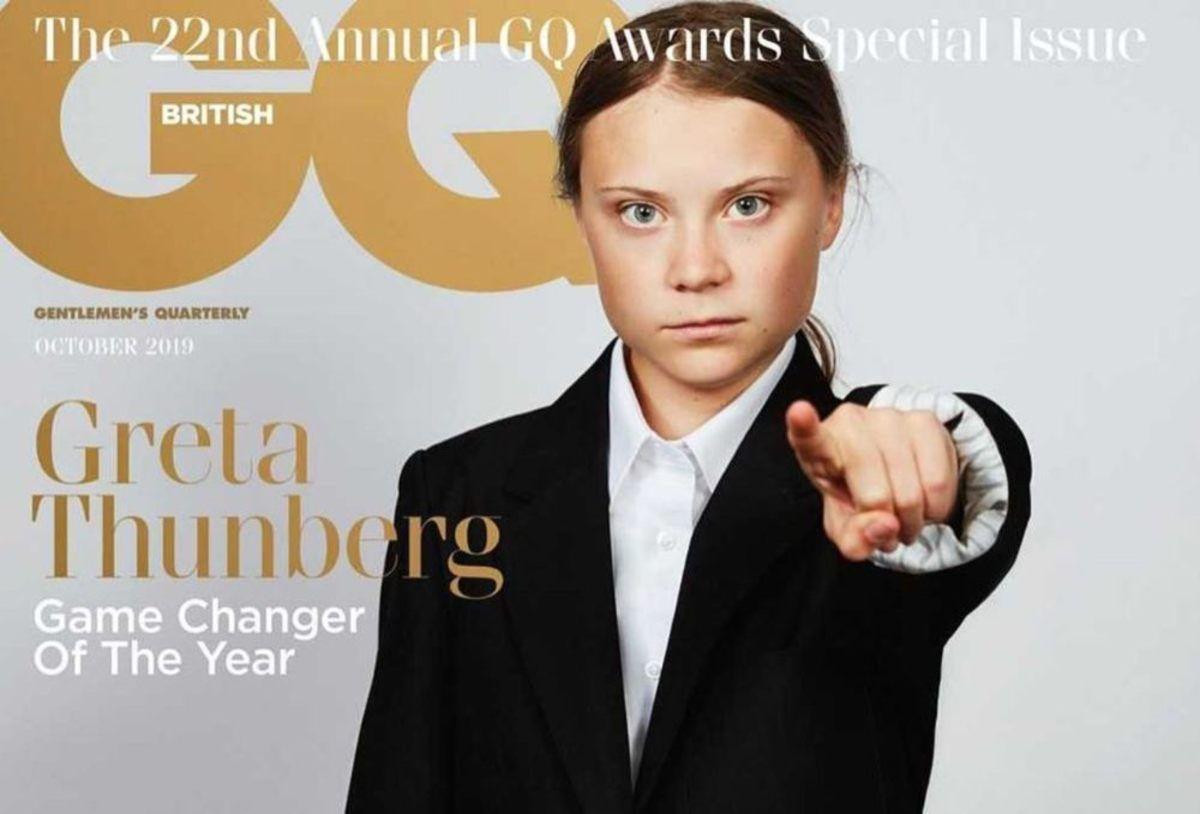 Greta Thunberg Wins Major GQ 'Men of the Year' Award Gq