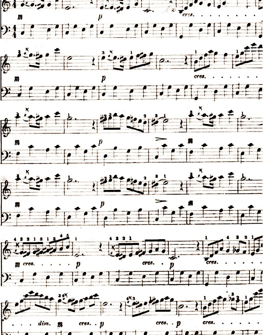 Free Music Sheet Downloads Great For Scrapbooking Alterables And Altered Books Or Actually Playing The Printable Sheet Music Music Paper Printables Freebies