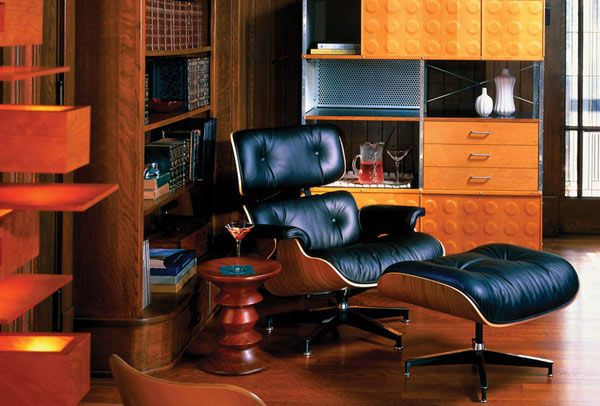 30 Eye Catching Interiors Featuring The Iconic Eames Lounge Chair Eames Lounge Chair Eames Lounge Lounge Chair Design