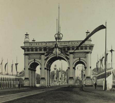 Federation Arch by Harold Desbrowe Annear