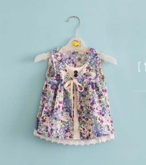3cdc63abb Patron para hacer una blusa para niña gratis06 | Ropa con patrones ...