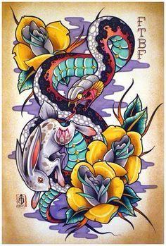 Resultado de imagen de dibujos terror a lapiz  Calavera serpiente