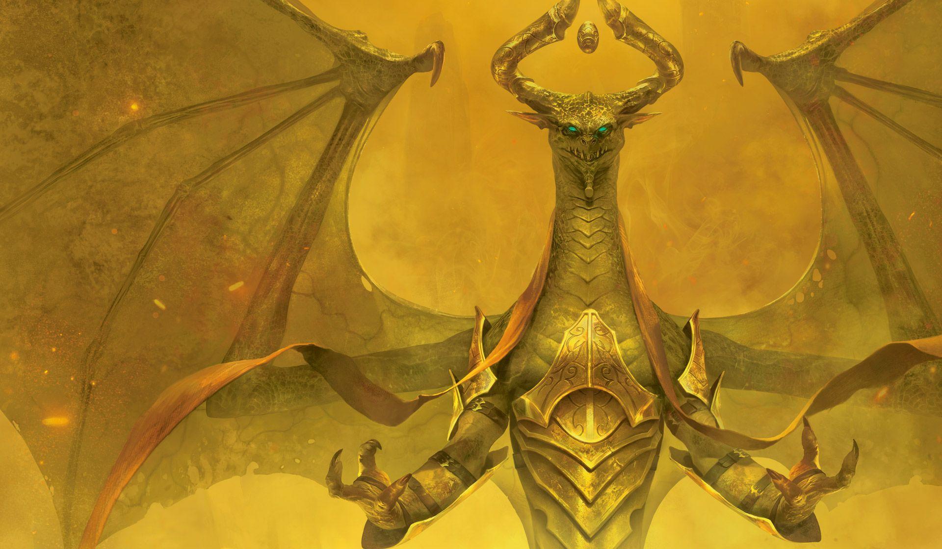 Nicol Bolas Mtg Planeswalkers Dark Wallpaper Dragon