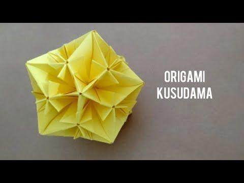 Photo of Origami Snowflake Kusudama/ Paper Star Ball (V1)