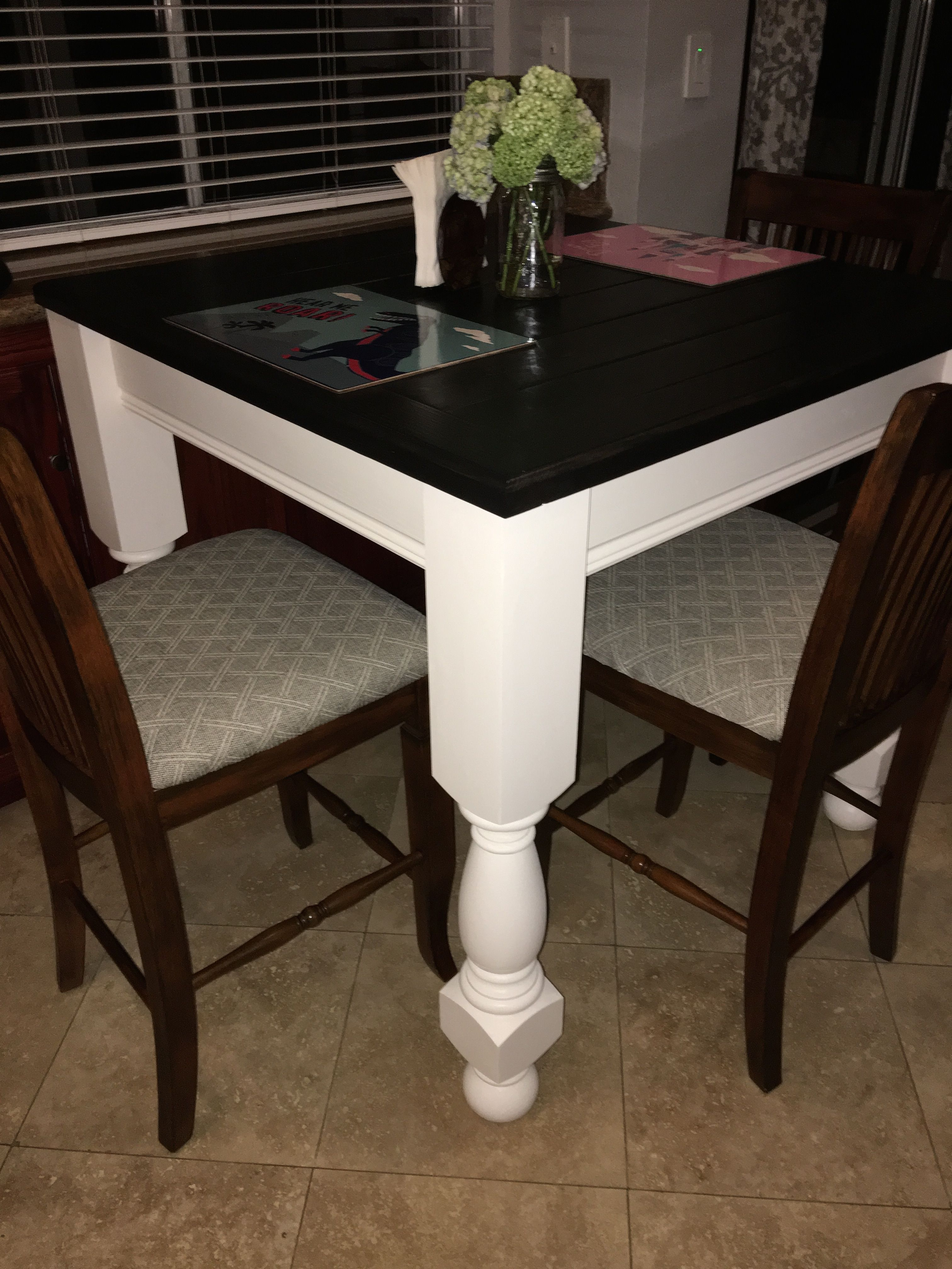 Fantastic Counter Height Farmhouse Kitchen Table 2X6 Tongue And Download Free Architecture Designs Rallybritishbridgeorg