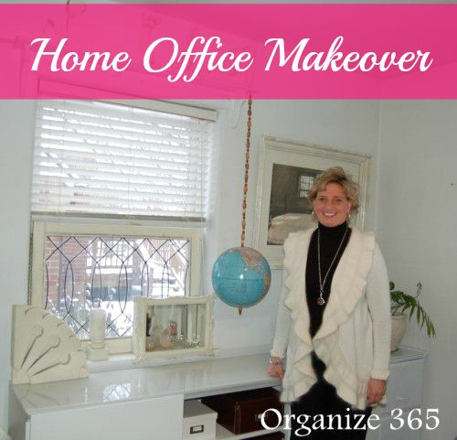 A Home Office Makeover   Organize 365