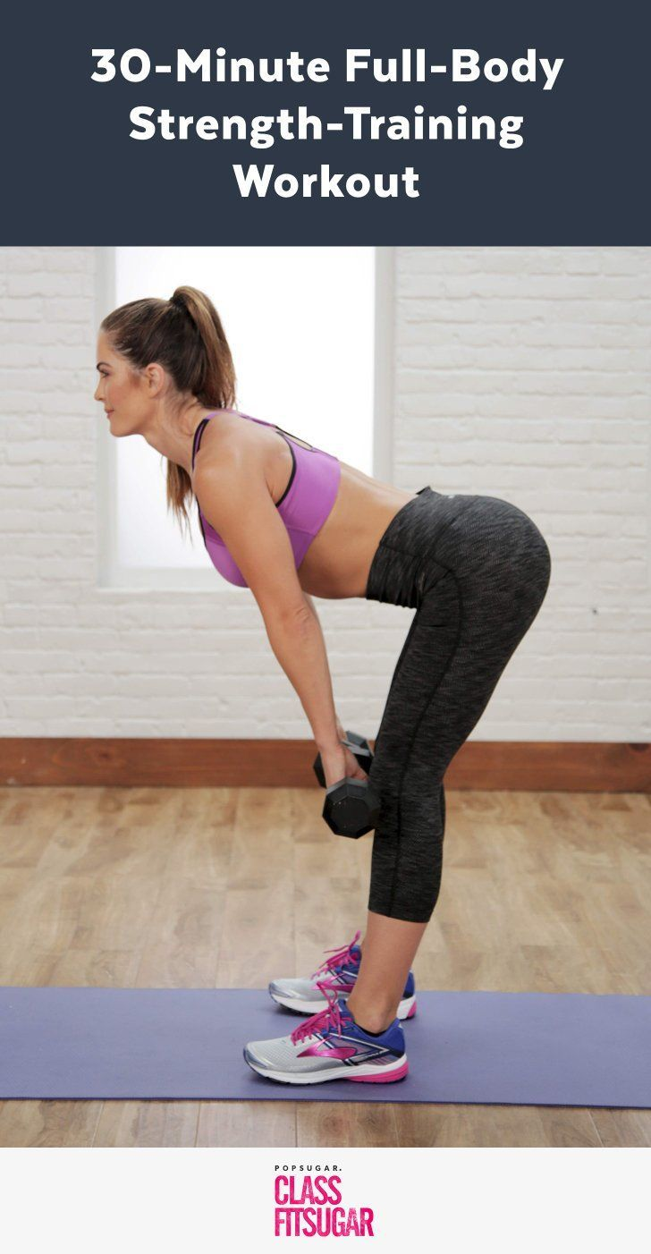 30-Minute Video Workout With Dumbbells Whether You