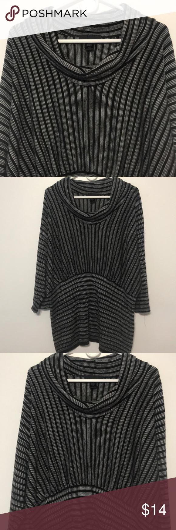 1a5dad430c 4th of July Sale 🇺🇸 Ashley Stewart 18 20 Light Weight Knit Top 100%  Acrylic Ashley Stewart Tops Tunics