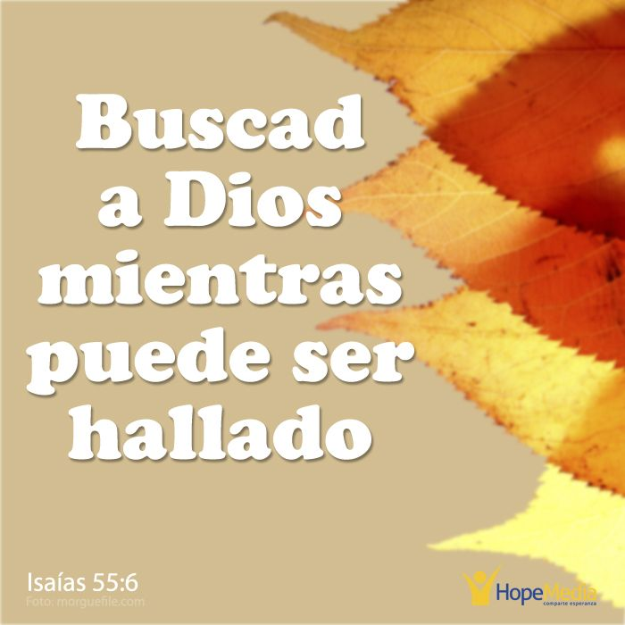 """""""Si insistes en ignorar la voz de Dios, llegará un momento en que dejes de escucharla"""". (EAF) HopeMedia.es"""