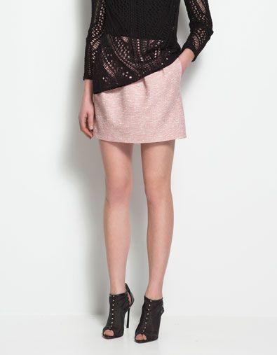 FANTASY MINI SKIRT - Skirts - Woman - ZARA
