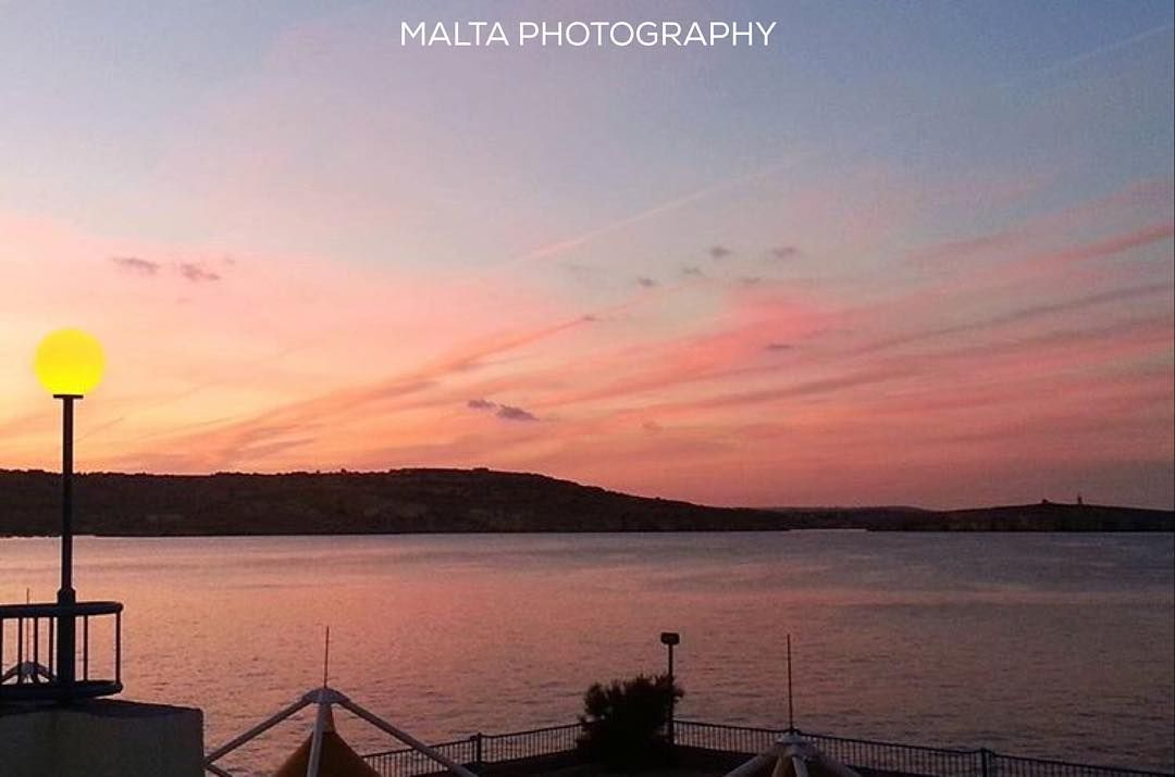 Beautiful #Sunset at St. Julians - Thanks to @starah for the #photo - Tag your #photos with #MaltaPhotography to get a chance to be #featured on @maltaphotography - http://ift.tt/1fpoK0v - #Evening #night #pinkskies #pink #instasunset #sunset #sky #sea #Wednesday #Midweek #November #islandlife #instagramhub #instafamous #photooftheday #picoftheday #beautifuldestinations #beautiful #view @instagram @beautifuldestinations #lonelyplanet #travel #destination