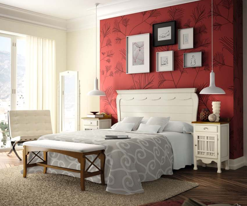 Dormitorio Decco Blanco Tosca Lacado Mesilla con encanto Ideas