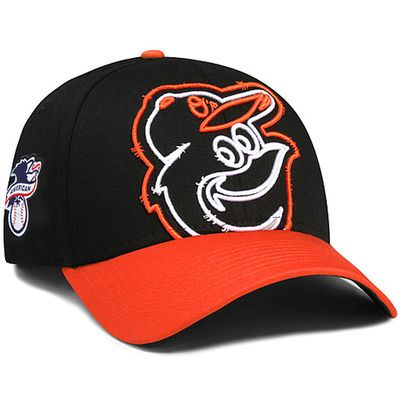 cf0cbde88e6361 Baltimore Orioles New Era Youth Authentic Collection Clubhouse 39THIRTY  Stretch Fit Hat - Black