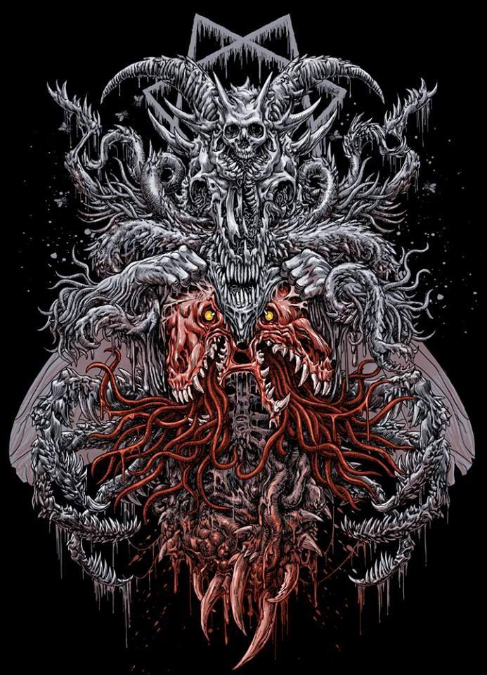 by DaeMorph | Satanic art, Evil art, Dark artwork