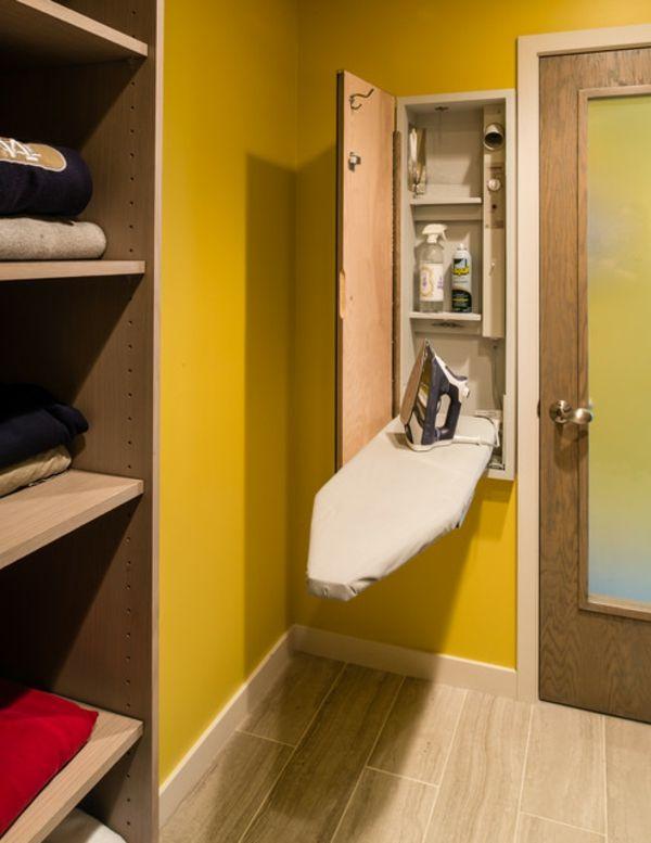 Bügelbrett Im Schrank Integriert waschmaschine bügelbrett idee zeitgenössische smart