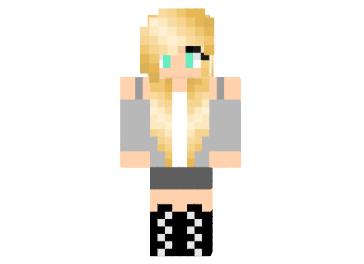 скины блондинок для майнкрафт #1
