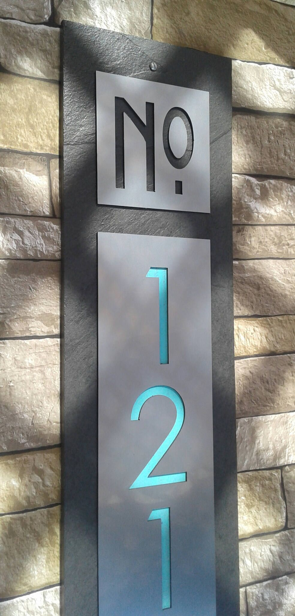 Modern House Numbers House Numbers Sign Address Etsy House Number Sign Modern House Number Modern House Numbers Sign