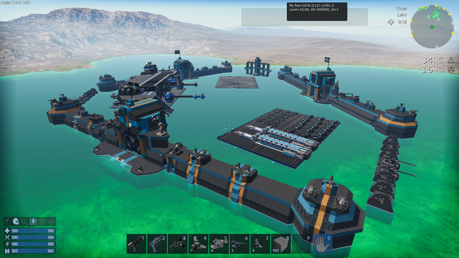 empyrion  galactic survival base  u0026 faction design template