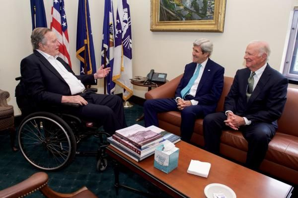 Stephen Feller Jan. 18 (UPI) -- Former U.S. President George H.W. Bush was hospitalized early Wednesday morning for an unknown illness, but…