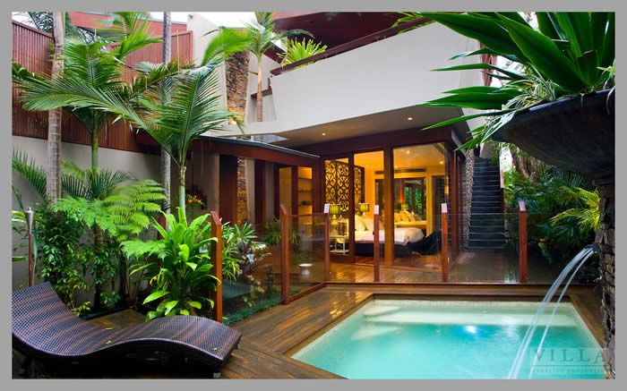 tropical modern home design this is a town house on the sunshine coast australia