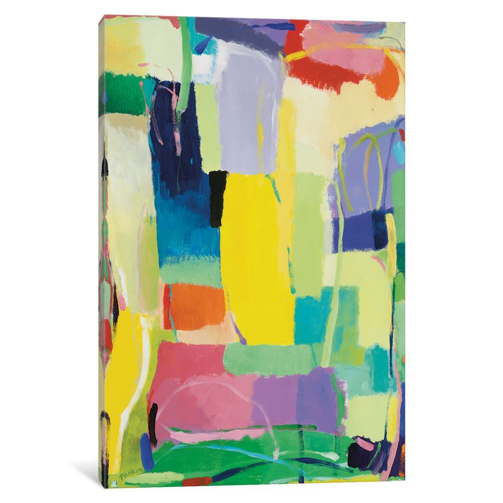 Urban Essay XV by Kim Parker Painting Print on Wrapped Canvas ...