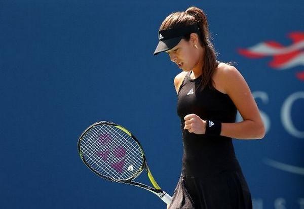 Ana Rolls Over Alison Riske 6 3 6 0 In R1 Of The Us Open Grandslam Tennis Ivanovic Ajde