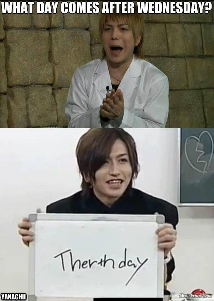 Nao. Tora. Alice Nine. Omg! I remember the video where they asked Tora, Shou and Hiroto to write 木曜日(Thursday) in English, I laughed so hard. XD they're so cute! (He might not know how to spell English words, but his English letter handwriting is really good! Admirably)