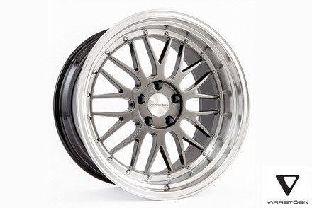 Varrstoen ES1 Wheels Hyper Black Machined Lip 18x9.5 +35 5x100
