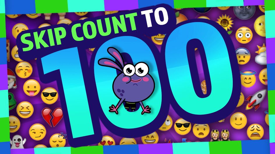 Get the wiggles out with Skip Count to 100 and other free