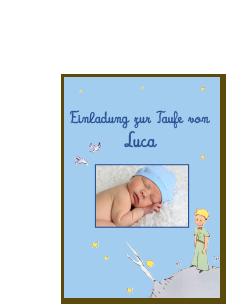 """Sommerzeit ist immer auch Taufzeit. Hier geht es zu unserer """"der kleine Prinz"""" Ideenwelt mit wunderbaren Einladungen und Geschenken zur Taufe: www.geschenkeschatz.de/Der-Kleine-Prinz.htm?websale8=arsedition&ci=dkp"""