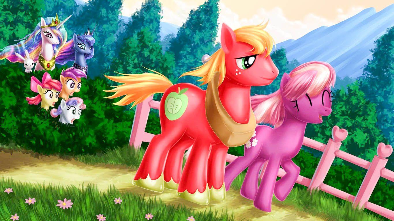 My Little Pony Friendship Is Magic Hd Wallpapers Celestia Luna