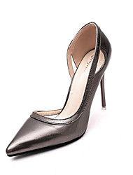 Chaussures automne à talon aiguille dorées fille kuqSoEf