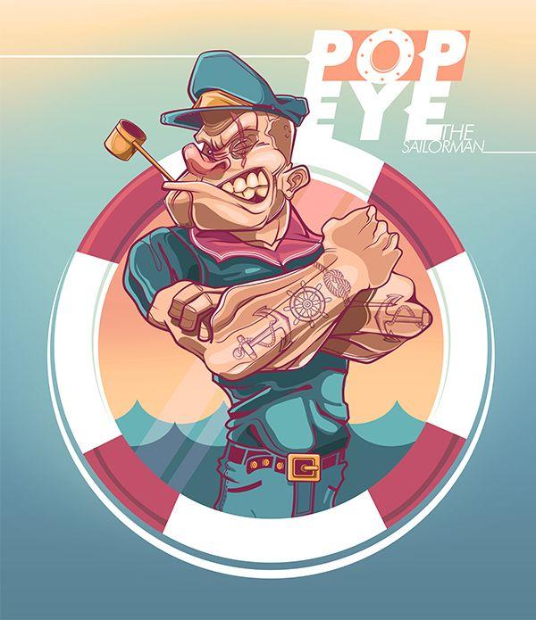 POPEYE (The sailorman) - Edgar Rozo