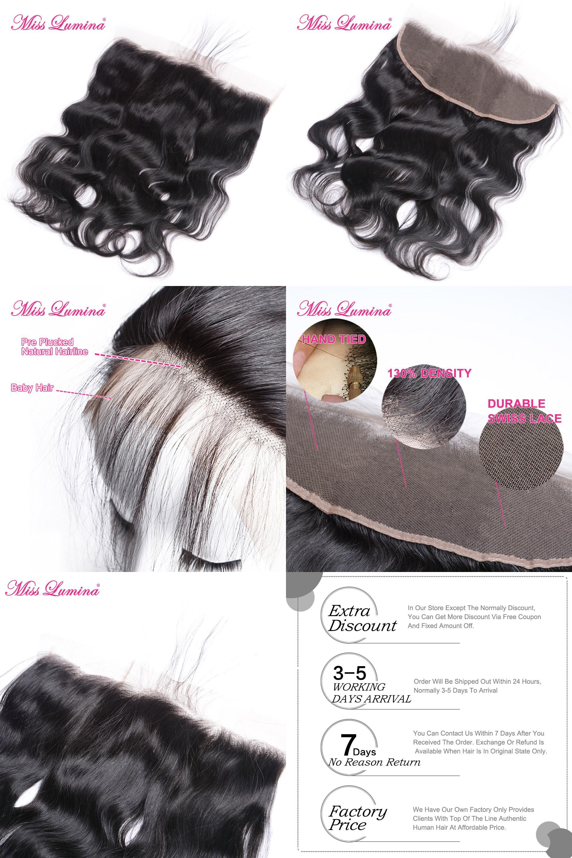 Visit to buy miss lumina x pre plucked lace frontal brazilian
