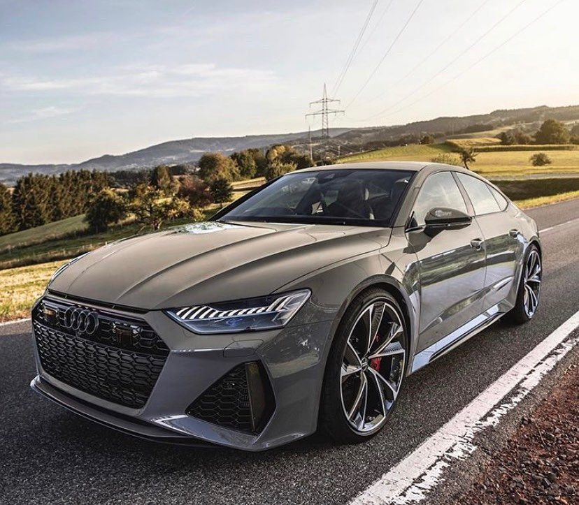 2020 Audi RS7 Sportback (C8) nardogrey Repos Авто