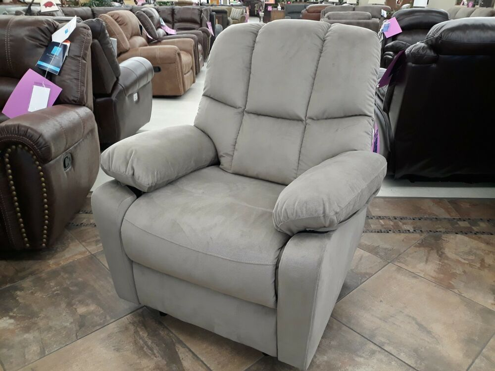 Beige Jerry Power Recliner by Amalfi Home Furniture   Home
