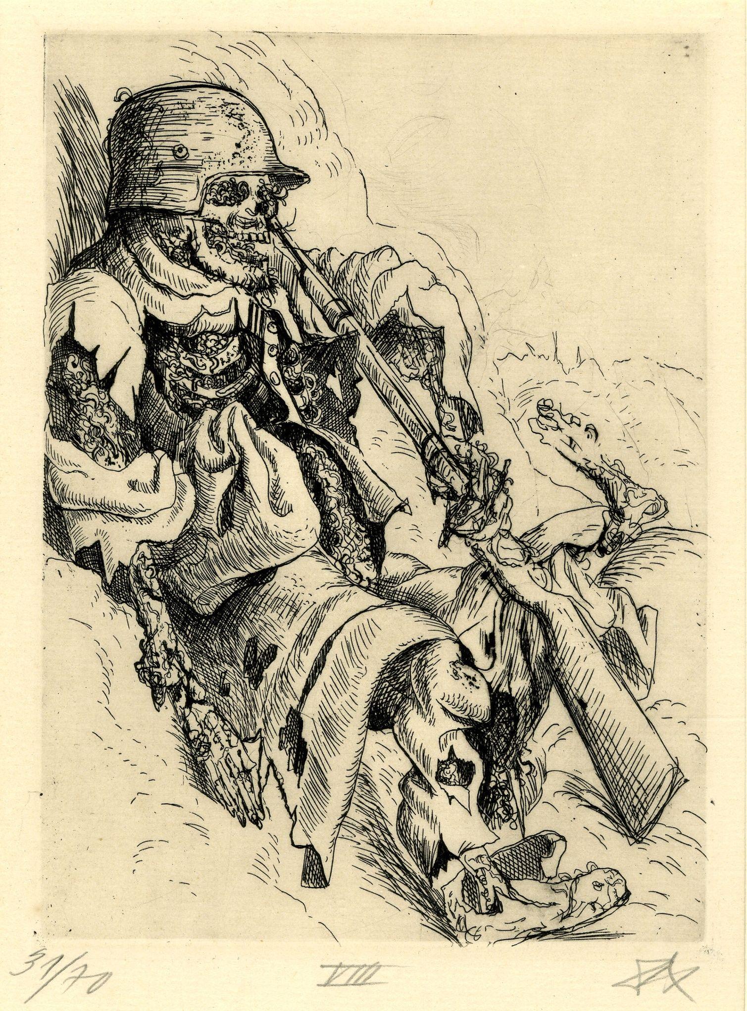 Otto Dix The Trench 1923