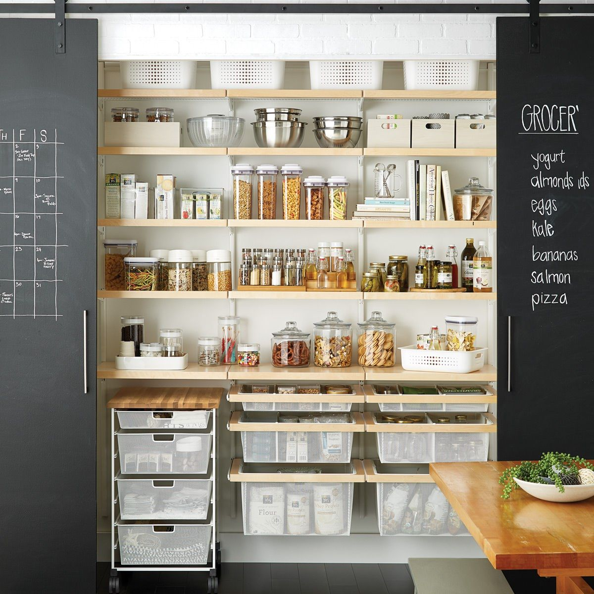 Messy Kitchen Pantry: There's So Much To Store In A Kitchen Or Pantry! Here's