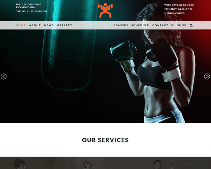 Gym And Fitness Website Responsive Web Template Webtemplate Websitetemplate Html Css Html5 Css3 Website Template Free Html Website Templates Templates