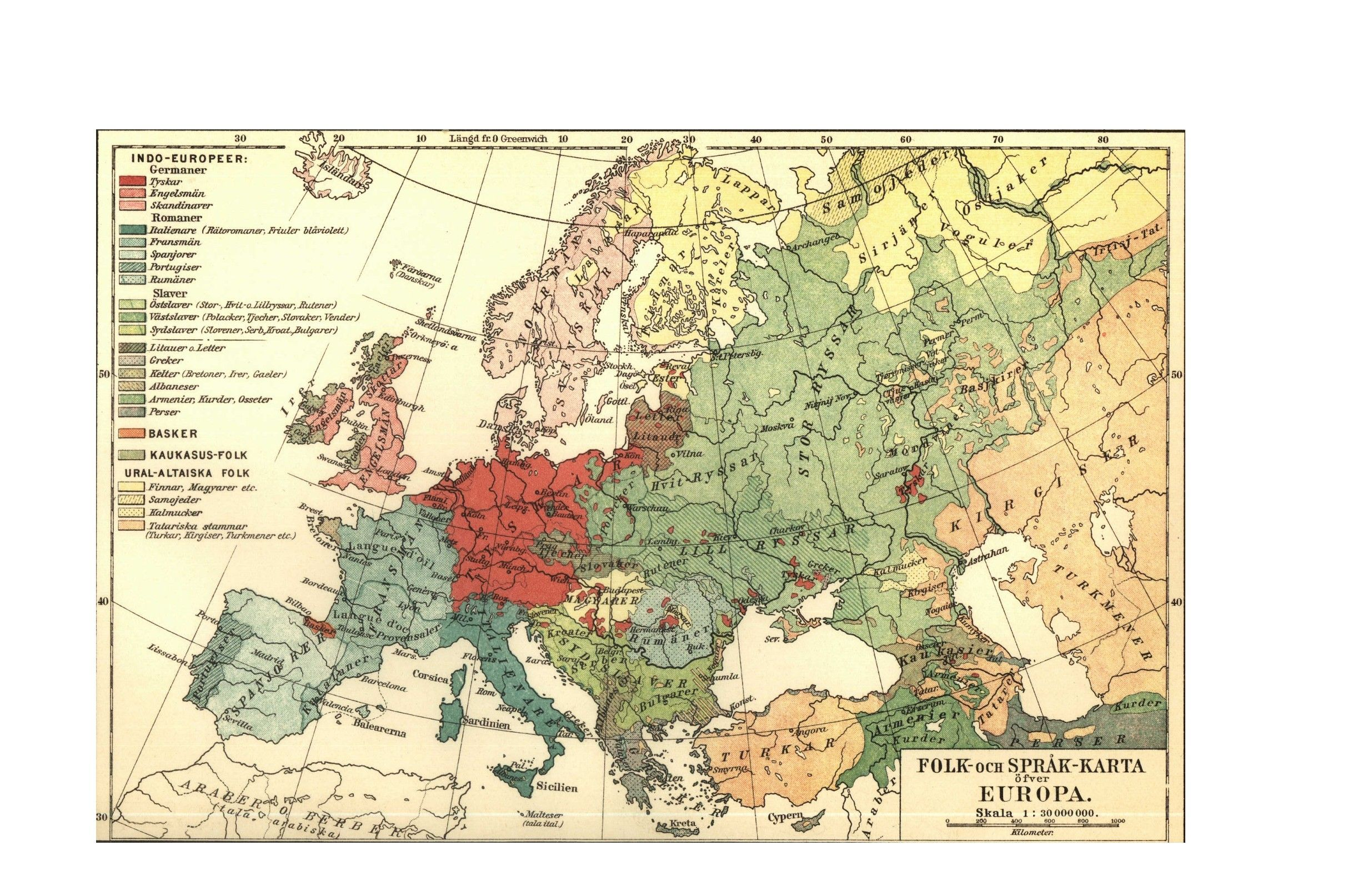 Map   Europe   Linguistic map 1907  vintage map website for printing     Map   Europe   Linguistic map 1907  vintage map website for printing out  craft worthy maps