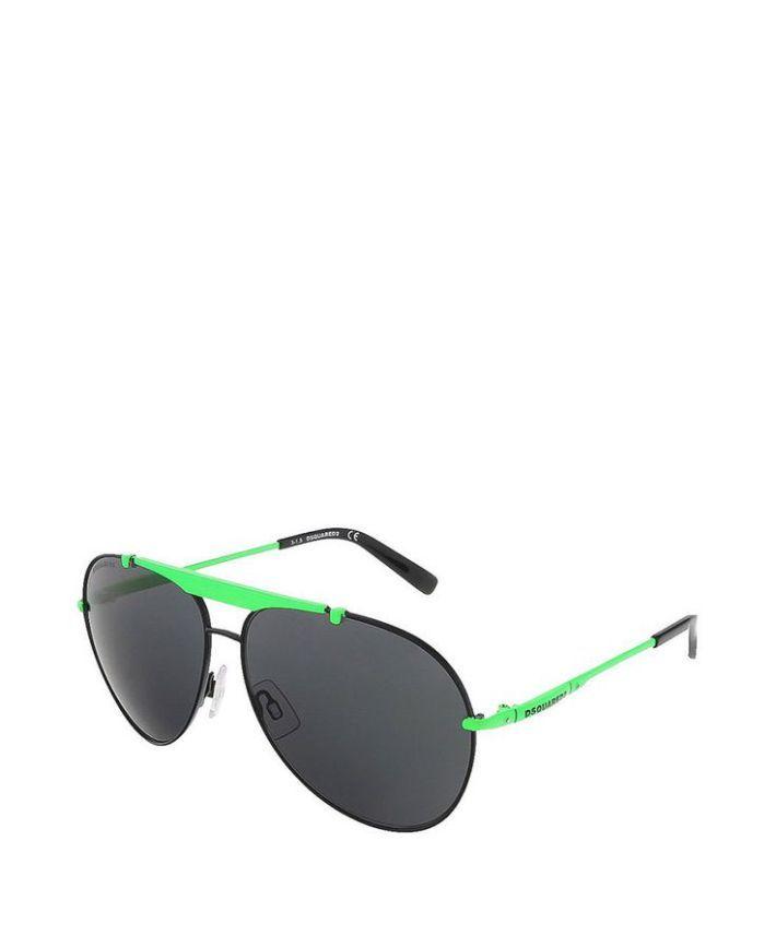 Tendance : Tendance lunettes : Occhiale da sole uomo  DSQUARED2 DQ0177 Nero  Primavera Estate  tita